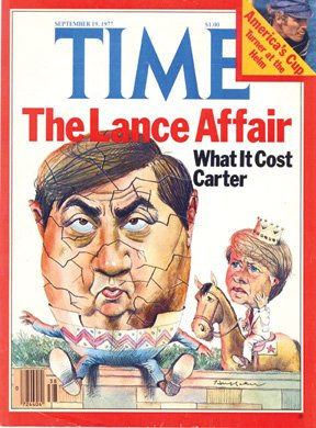 Sandy Huffaker - Time Magazine Illustration