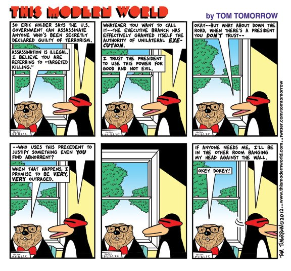 The Modern World: 3-15-12